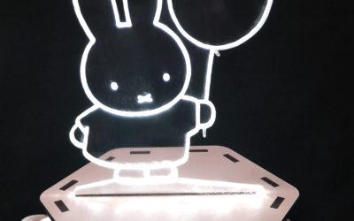 Lampes LED Plexi